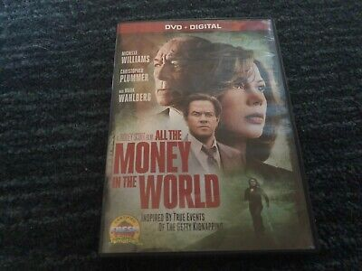 All The Money In The World, Dvd, Mark Wahlberg, Great Shape