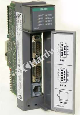 Allen Bradley 1746-BAS-T /A SLC 500 BASIC High-Speed Module 2 Serial Ports