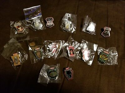 FUNKO Rare Pin Lot LEGION OF COLLECTORS COLLECTOR CORPS MARVEL STAR WARS Groot