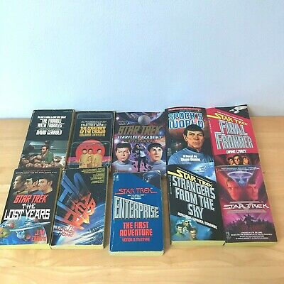Mixed Lot 10 Star Trek TOS Original Series Paperbacks Dillard Carey McIntyre BK9