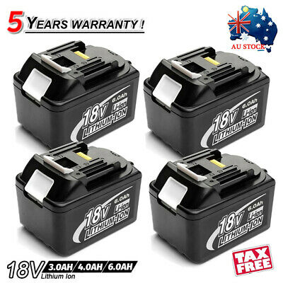 For Makita 18V 6.0AH LXT Lithium Ion Battery Replaces BL1840 BL1830 BL1815 Tools