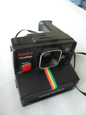 Vintage 1980's Instant film Polaroid,  One Step Time Zero camera (SX70 film)