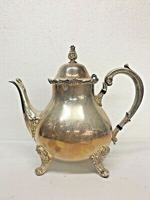 Webster Wilcox I S International Silver American Rose 7302 Coffee, Teapot