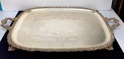"""Webster Wilcox I S  International Silver Company 3292124, Footed 30 1/4 x18 7/8"""""""