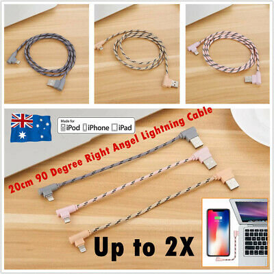 20CM Braided Lightning USB Cable Sync Data Charging Cord for  iPhone X 6s 7 8 5