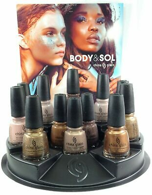 China Glaze Nail Lacquer BODY & SOL Collection Ready To Wear