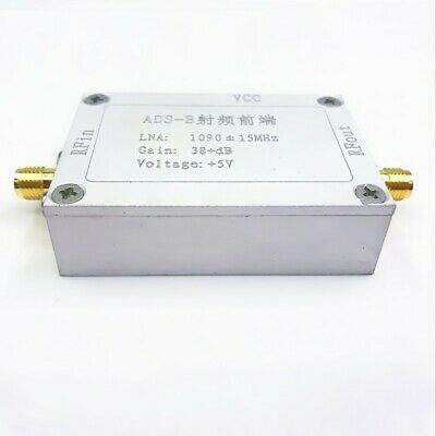1090MHz 38dB RF Lower Noise Power Amplifier for ADS-B RF Front-End od34