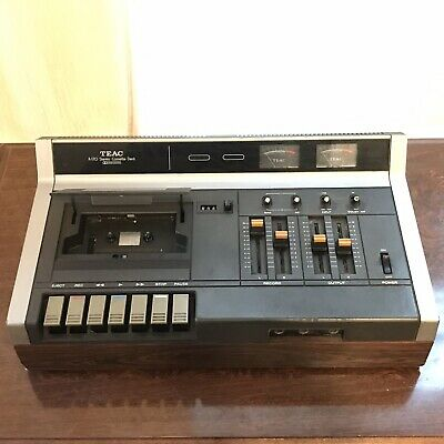 Teac A-170 Vintage Stereo Cassette Deck Recorder 170s AS IS For Parts Or Repair
