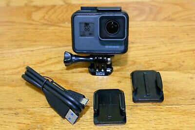 GoPro Hero 5 Black Edition Action Camera Works Great and Includes Accessories