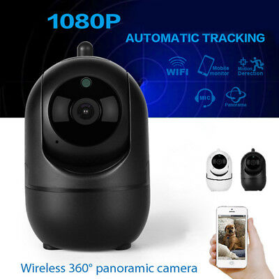 HD 1080P Cloud Wireless IP Camera Auto Smart Tracking Home Security  Wifi Camera
