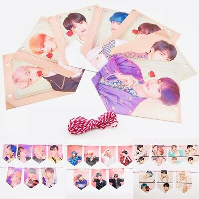 KPOP BTS New Ablum MAP OF THE SOUL PERSONA Poster Card Wall Flag JUNGKOOK SUGA