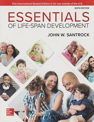 NEW 3 Days US Essentials of Life-Span Development 6E John W Santrock 6th Edition