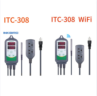 Inkbird Temp Controller ITC-308 & ITC-308 Updated WIFI Version Home Brewing Beer