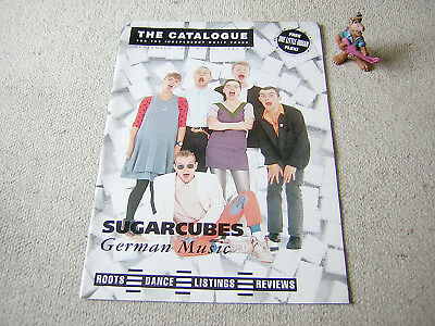 "THE CATALOGUE Nr. 74 SEPTEMBER 1989 inkl 7"" FLEXI (SUGARCUBES ONE LITTLE INDIAN)"