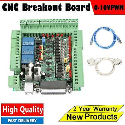 MACH3V3.0-L CNC Engraving Machine Breakout Board 4/5/6axis Motion Controller UK