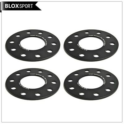 4Pcs 5mm Wheel Spacers 5x120 Bolt Pattern CB72.5 for BMW Forged 6061T6 Black