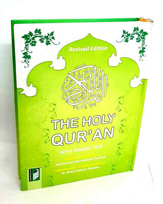 The Holy Quran-Arabic Text English Translation & Transliteration M M Pickth-IBS
