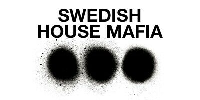 2 X Swedish House  Mafia Tickets  - The Tele2 Arena - Stockholm - 4th May 2019