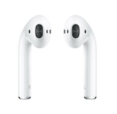 Apple AirPods (2nd Gen) With Charging Case (MV7N2ZM/A) White UK NEW