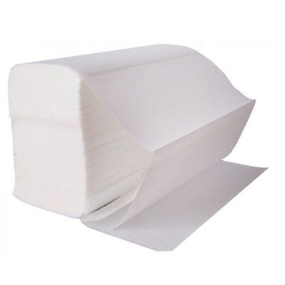Z Fold Paper Hand Towels - White - Case of 3000 Sheets