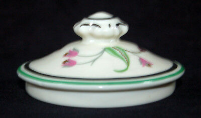 Beautiful Vintage Syracuse China Old Ivory Coralbel Sugar Bowl Lid Only