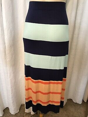 07f2ea625 Lane Bryant Stretch Jersey Knit A -like Maxi Skirt Woman's Plus Size 22/24