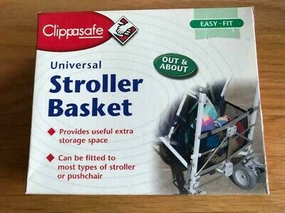 Clippasafe Universal Stroller basket NEW UNUSED