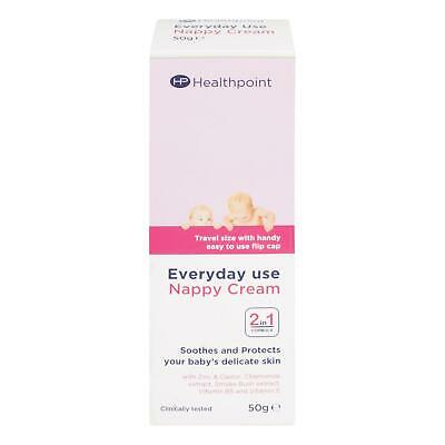 Healthpoint Everyday Use Nappy Cream 2-in-1 Formula Soothes & Protects Skin 50g
