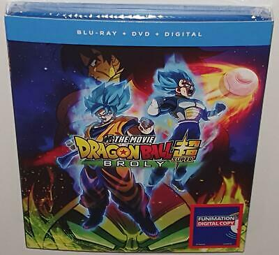 Dragon Ball Super Broly Movie (2019) New Sealed Region A Bluray Dragonball Z