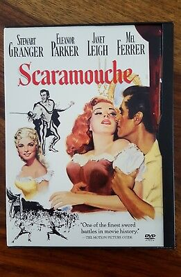 1952 Scaramouche (2003 dvd, region 1)(english and french)