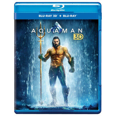 Aquaman (Blu-ray 3D + Blu-ray) (2018) (Region Free) (NEW)