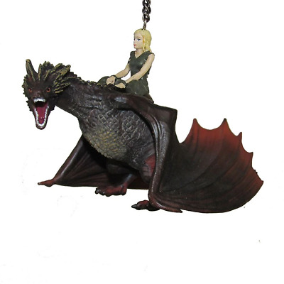 "Kurt Adler 5"" Game of Thrones Daenerys with Dragon Ornament"