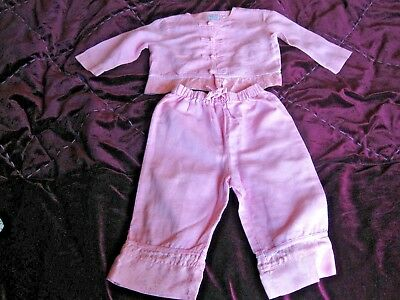 MONSOON BABY GIRL SO CUTE PINK ORIENTAL OUTFIT SET TOP & TROUSERS AGE 6 - 12m