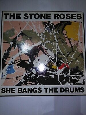 Vinyl records lp album,1989 The Stone Roses.She Bangs The Drums.180g