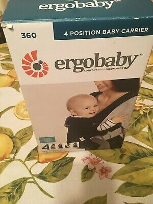 a0cd8eacd7d GENUINE ERGOBABY FOUR position 360 baby carrier