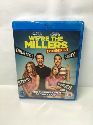 WE'RE THE MILLERS - EXTENDED CUT [BLURAY] NEW & SEALED Blu Ray. Freepost In Uk