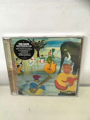 THE BAND MUSIC FROM BIG PINK CD 50TH ANNIVERSARY EDITION 2018. New Sealed.