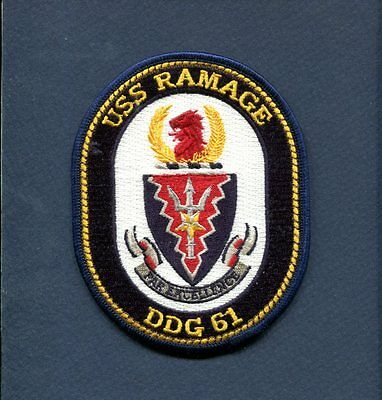 USS RAMAGE DDG 61 Decal US NAVY Military USN S01