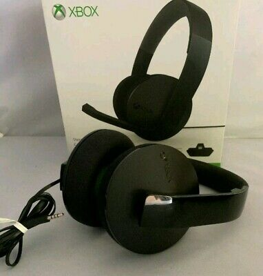 Microsoft Xbox One Official Stereo Headset Only. Model 1610, 1626