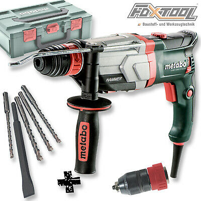 Metabo Multihammer UHEV2860-2Quick [Set:10tlg!!] SDS-plus Bohrhammer Stemmhammer