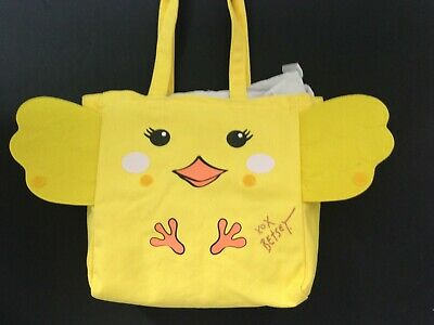 Betsy Johnson  Peek-a-Boo Yellow Tote New w Tags