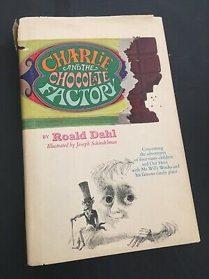 """CHARLIE AND THE CHOCOLATE FACTORY""-* Roald Dahl- HB/DJ"