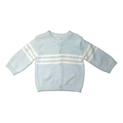 NEW Baby Ka-Boosh Knitted Blue Cardigan from Baby Barn Discounts