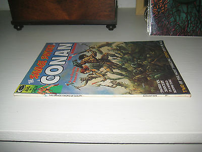 THE SAVAGE SWORD OF CONAN #1  3rd app' Red Sonja 1st solo Red Sonja story.MOVIE!
