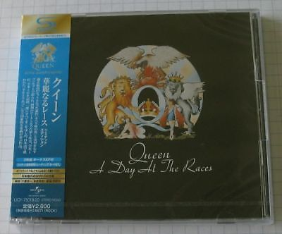 QUEEN - A Day At The Races JAPAN SHM 2CD OBI NEU! UICY-75019/20 SEALED