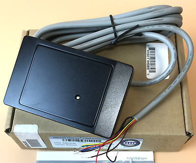 HID Prox ThinLine II  Wall Switch  READER  MODEL - 5395CKL00  NEW Black #0805