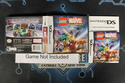 Lego Marvel Super Heroes: Universe in Peril - Case, Nintendo DS Cases Tested USE