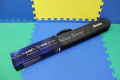 "Okuma Nomad 7'0"" Xpress Inshore Travel Spinning Rod W/Case NEW 2019 NTxi-S-703ML"