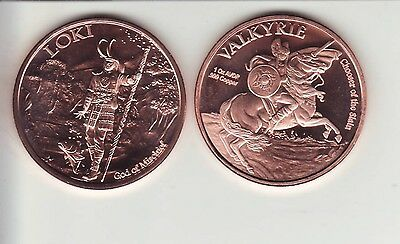 Energetic 5 Each 1 Oz Dinosaur Copper Rounds Coins & Paper Money Other Bullion