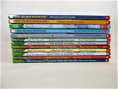 MAGIC TREE HOUSE Paperback Books by Mary Pope Osborne Lot of 12